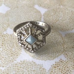 Portico Hexagon Ring